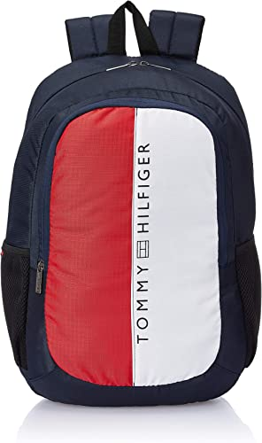 Tommy Hilfiger 45 cms Navy Laptop Backpack (TH/BIKOL08HRP)