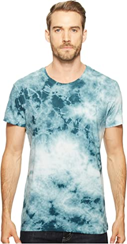 Cotton Jersey Tie-Dye Distressed Heritage T-Shirt