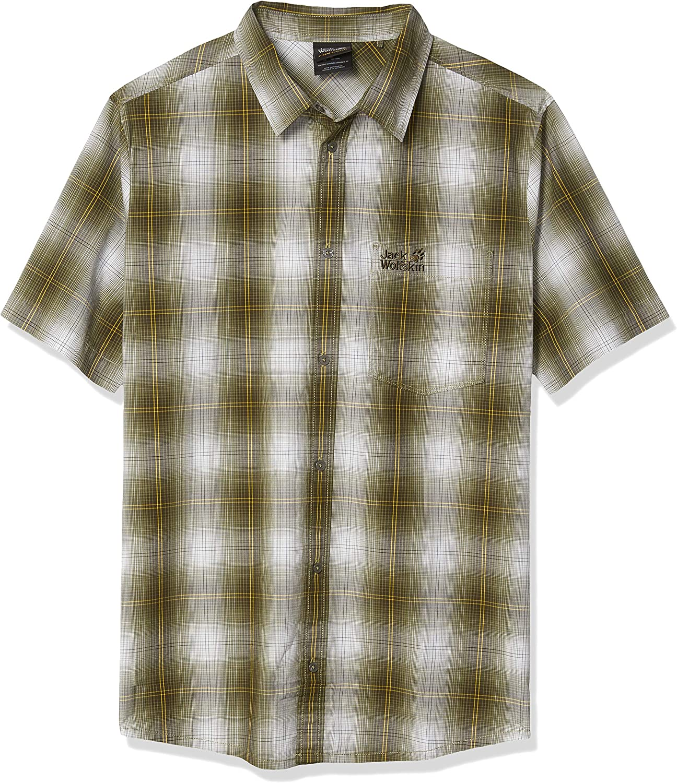 Jack Overseas parallel import regular item New Orleans Mall Wolfskin Men's Hot Shirt M Chili