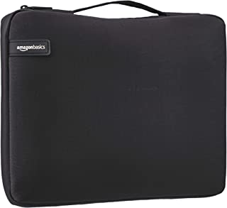 AmazonBasics 39 62 Professional Laptop Sleeve  With Retractable Handle  Black