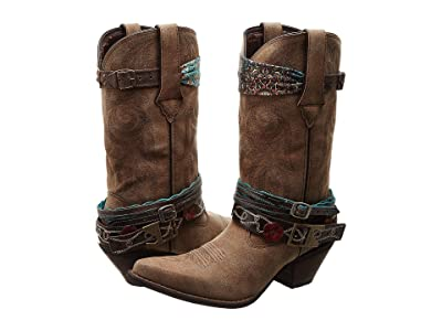 Durango Crush 12 Accessorize w/ Removable Straps Cowboy Boots