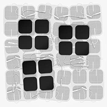DONECO TENS Unit Pads 2X2 48 Pcs Replacement Pads Electrode Patches for Electrotherapy