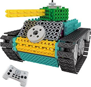 Think Gizmos Build Your Own Robot Toys for Kids – Ingenious Machines Remote Control Robot Building Kit … (Large Tank)