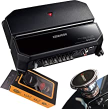 Kenwood 500W 2 Channels Dual Performance Standard Series Stereo Power Car Amplifier with..
