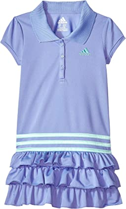 adidas Kids - Ruffle Polo Dress (Little Kids)