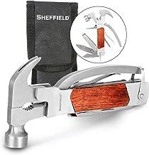 Sheffield 12913 martelo multiferramenta premium 14 em 1, ferramenta multiuso para casa, equipamento de acampamento e traba...
