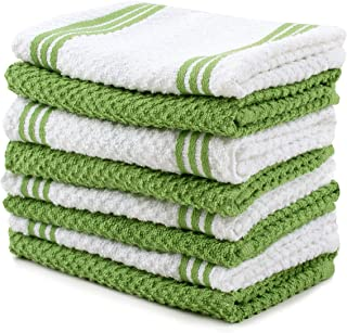 Amazon.com: lime green kitchen towels