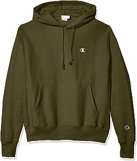 Champion LIFE Mens GF68 Reverse Weave Po Hood - Small Left Chest C Hooded Sweatshirt