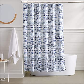 AmazonBasics Serene Shower Curtain - 72 Inch