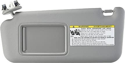 GENUINE TOYOTA 06-10 RAV4 OEM DRIVER SIDE (LH) SUNVISOR SUNROOF 74320-42501-B2