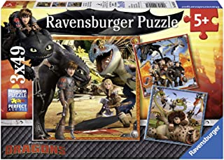 Ravensburger How to Train Your Dragon Jigsaw Puzzle (3 x 49 Piece)