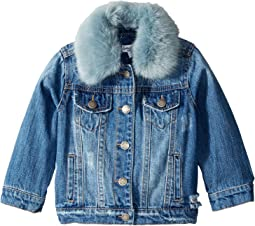 Splendid Littles - Faux Fur Collar Denim Jacket (Infant)