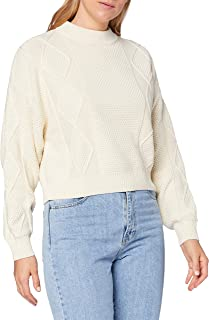 Wrangler Cable Knit Sweat-Pullover Femme