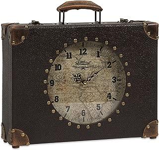 Imax 68171 World Map Suitcase Clock