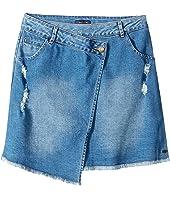 Tommy Hilfiger Kids - Asymmetrical Denim Skirt (Big Kids)