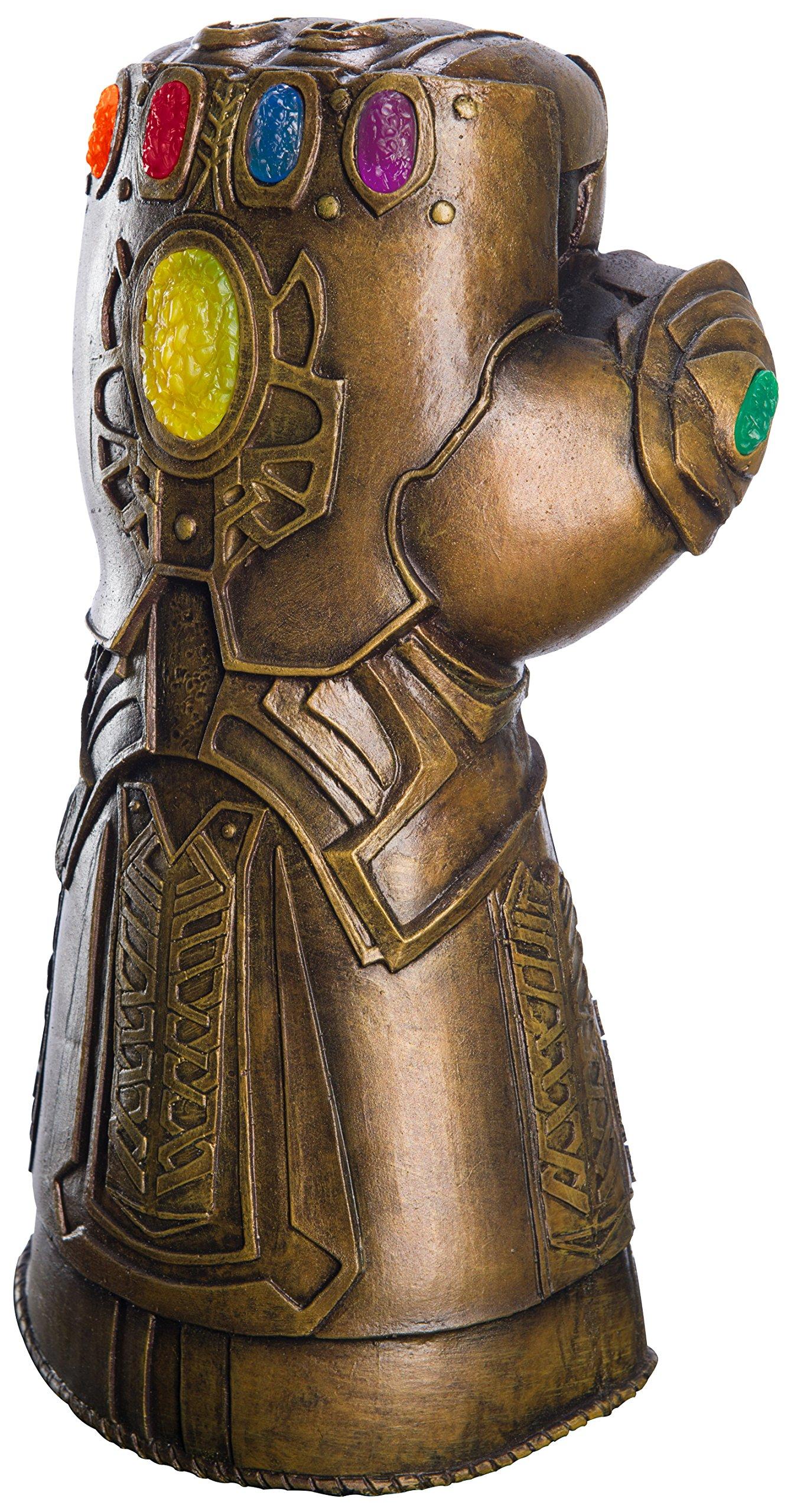 Amazon Com Rubie S Marvel Avengers Infinity War Deluxe Child S Gauntlet Toys Games