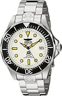 Invicta Men's INVICTA-10640 Pro Diver Analog Display Japanese Automatic Silver Watch