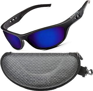 ZILLERATE Lunettes de soleil polarisées homme et femme Pour conduite, vélo, golf, ski, pêche et course à pied — Protection...