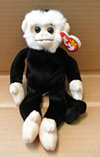 TY Beanie Babies Mooch the Spider Monkey Stuffed Animal Plush Toy - 9 inches tall