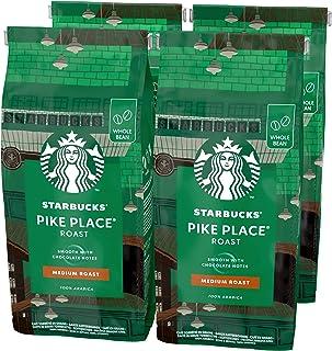 Starbucks Pike Place Medium Roast Koffiebonen (4 zakken à 450g)