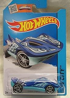 Hot Wheels 2014 HW City Street Beasts Super Stinger (Stingray Car) 37/250, Blue