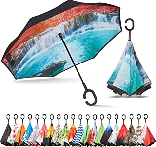 Sharpty Inverted Umbrella, Umbrella Windproof, Reverse Umbrella, Umbrellas for Women with..