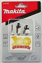 Makita Zestaw frezów 3-częściowy 6 mm, D-53338