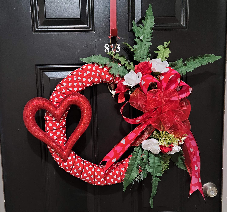 Popularity Red Heart Finally popular brand Wreath Valentine