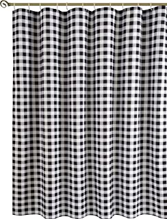 Best check shower curtain Reviews