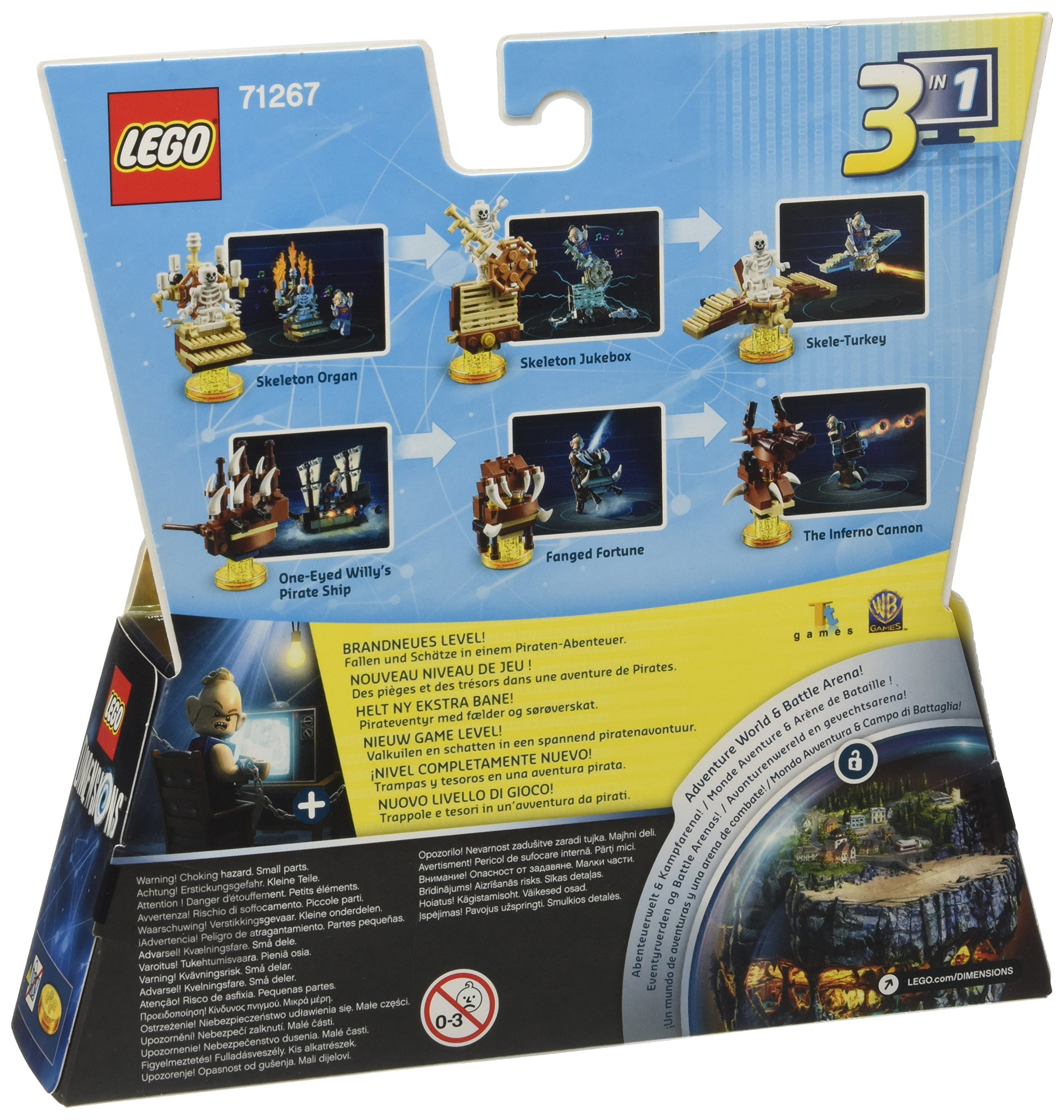 Warner Bros Interactive Spain Goonies (Level Pack): Amazon.es ...