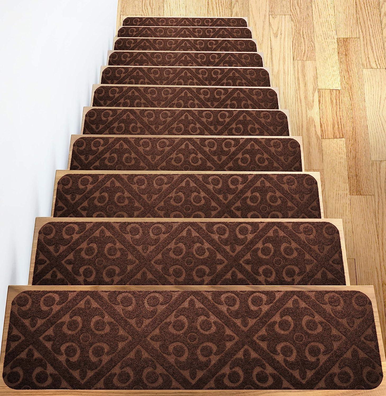 Elogio Carpet Stair Free Shipping Cheap Bargain Gift Treads Set of New Shipping Free Shipping Non Skid Slip 13 Runner Rubber