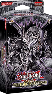 Yu-Gi-Oh! Gates of The Underworld Structure Deck | 1 Ultra Rare Card | 2 Super Rare Cards | 1 Game Mat