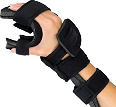 Stroke Hand Splint- Soft Resting Hand Splint for Flexion Contractures, Comfortably Stretch and Rest Hands for Long Term Ease with Functional Hand Splint, an American Heritage Industries (Right, Large)