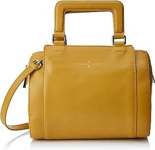Roberto Verino Bowling Blanchet Nano, Bolso de mano para Mujer, Amarillo (Yellow), 16x29x24 cm (W x H x L)