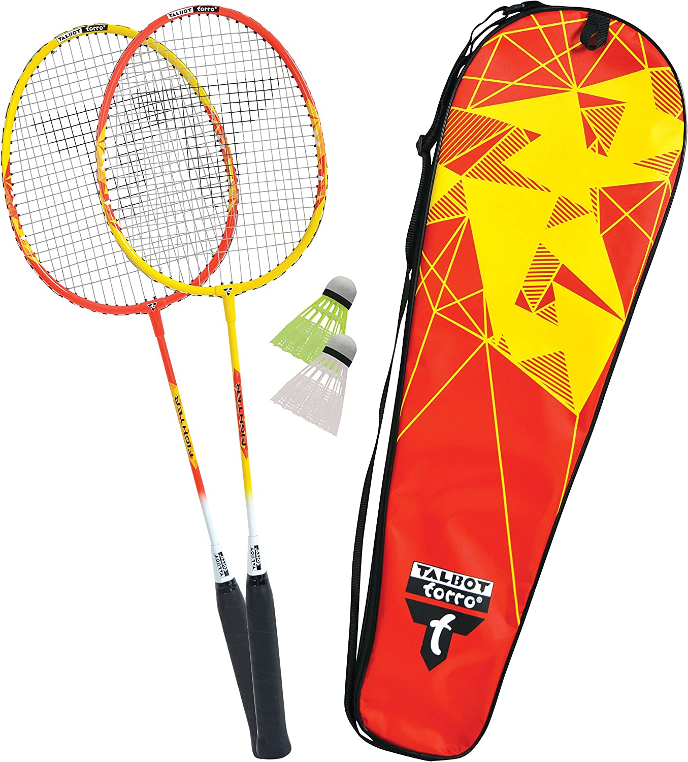 TALBOT TORRO Premium 2 Alu Fighter in Bag (2017) 449503 Badminton Set, Multi, M