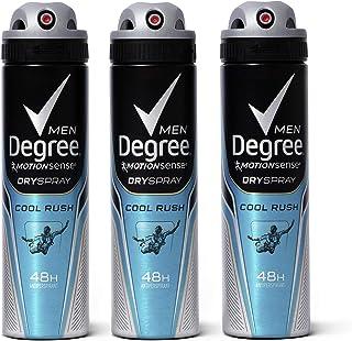 اسپری خشک دئودورانت ضددردان ضد عرق MotionSense مردانه درجه ، سرد راش ، 3.8 اونس ، پکیج 3