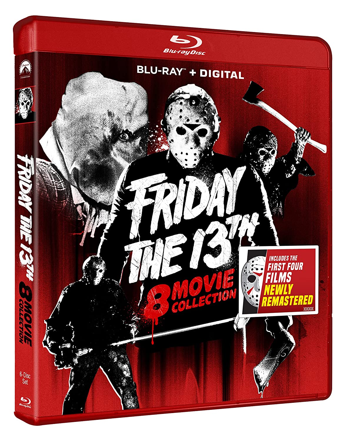 Max 62% OFF Friday OFFicial store the 13th Blu-ray Collection 8-Movie