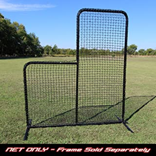 L-Screen Replacement Net 6' x 7' 60ply Batting Cage Baseball Pitching Safety Net Baseball & Softball Training Aids Sporting Goods