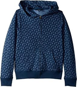 Floral-Print Cotton Hoodie (Little Kids/Big Kids)