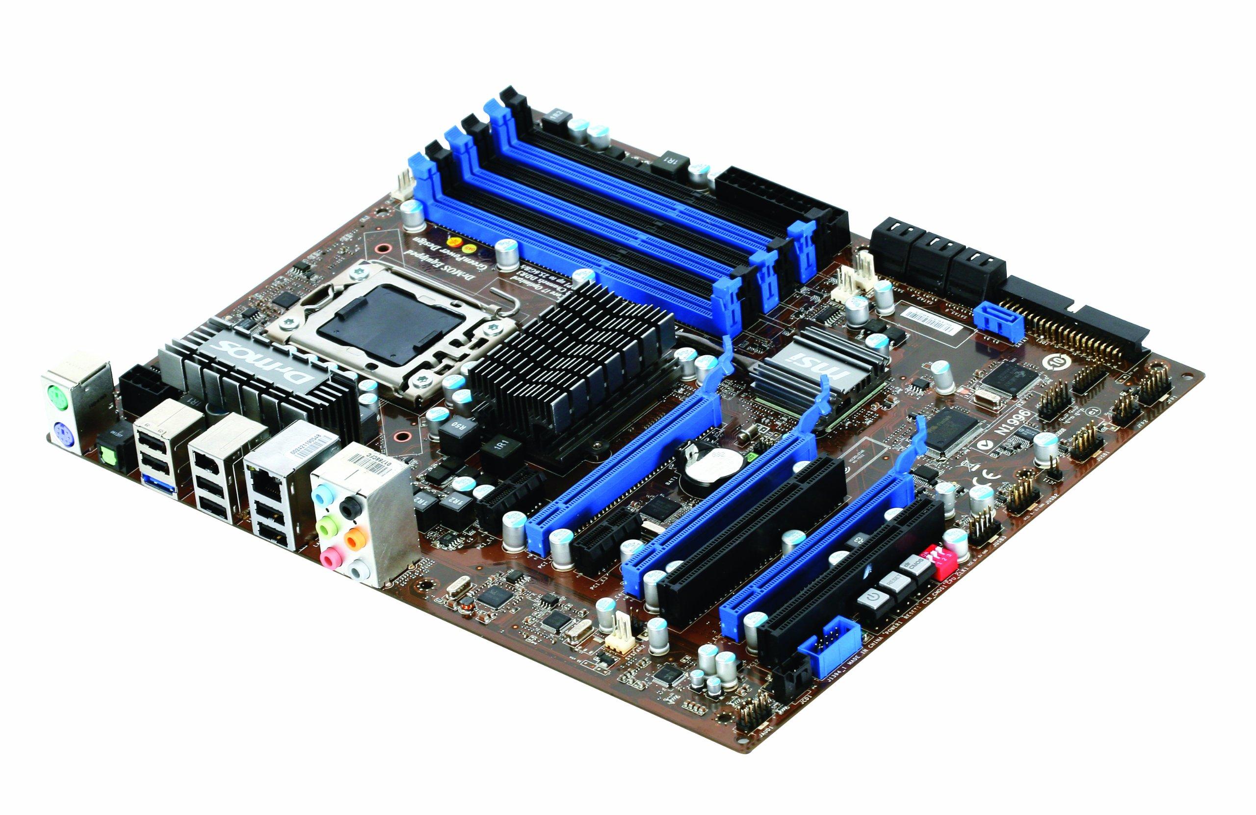 MSI 7522-070R - Placa Base Intel (zócalo 1366, X58, Memoria DDR3, ATX): Amazon.es: Informática