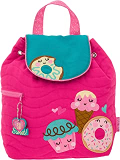 Girls' Little Quilted Backpack, Donut