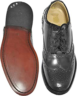 Leather Ghillie Brogue Kilt Shoes Traditional Scottish Piper and Highland Outfit Wedding Shoes Featuring Extra Long Laces & Leather Tassels - Sizes 6 – 17 Style –Highlander Leather Sole Color – Blac