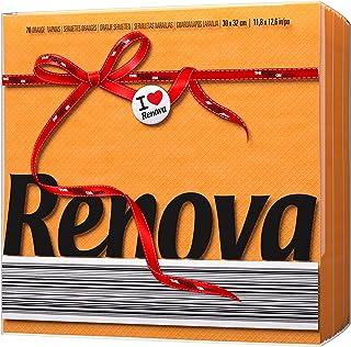 Renova Papieren servetten Red Label Oranje - 70 servetten