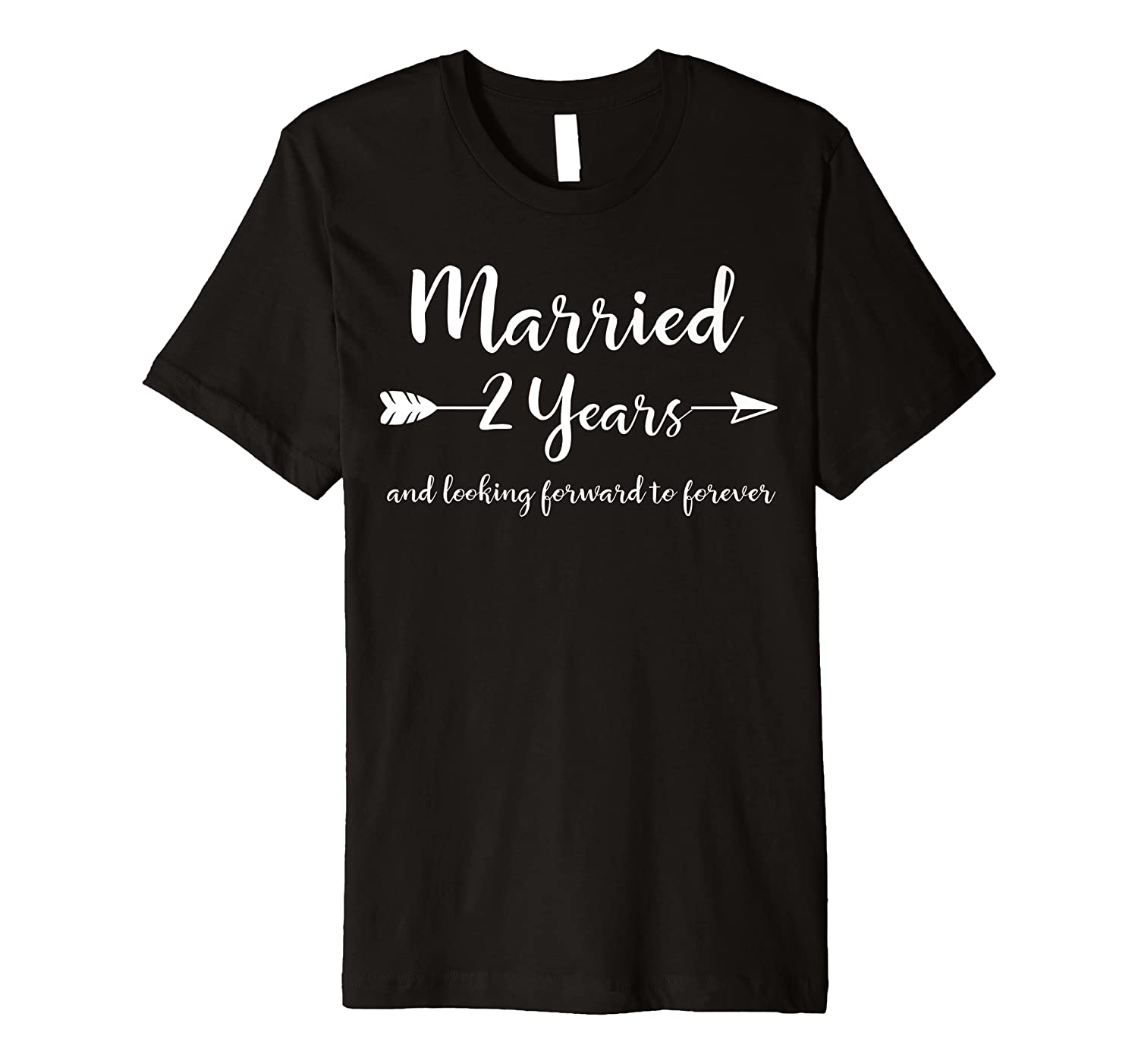 Amazon Com 2nd Wedding Anniversary Gift T Shirt For Him Her Couples Clothing