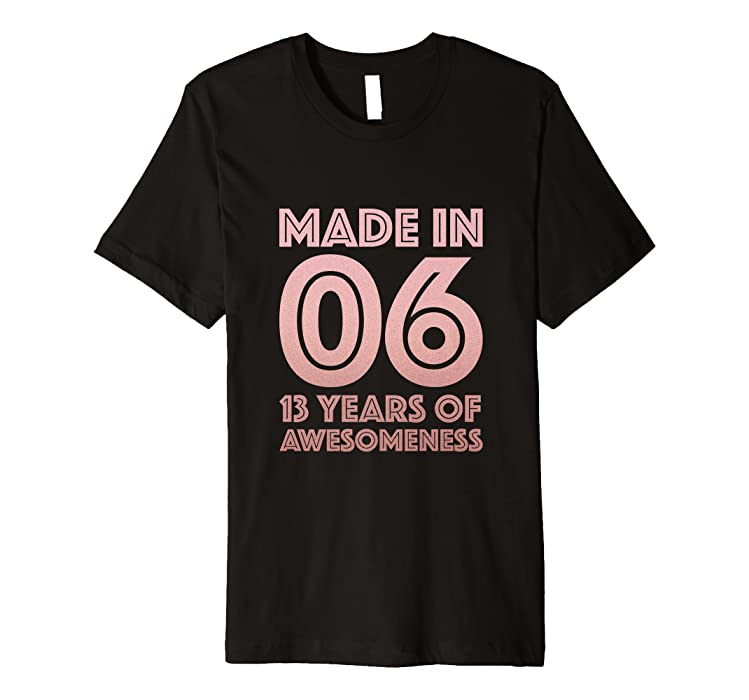 13th Birthday Shirt Teen Girls Gift Age 13 Year Old Daughter Amazoncouk Clothing