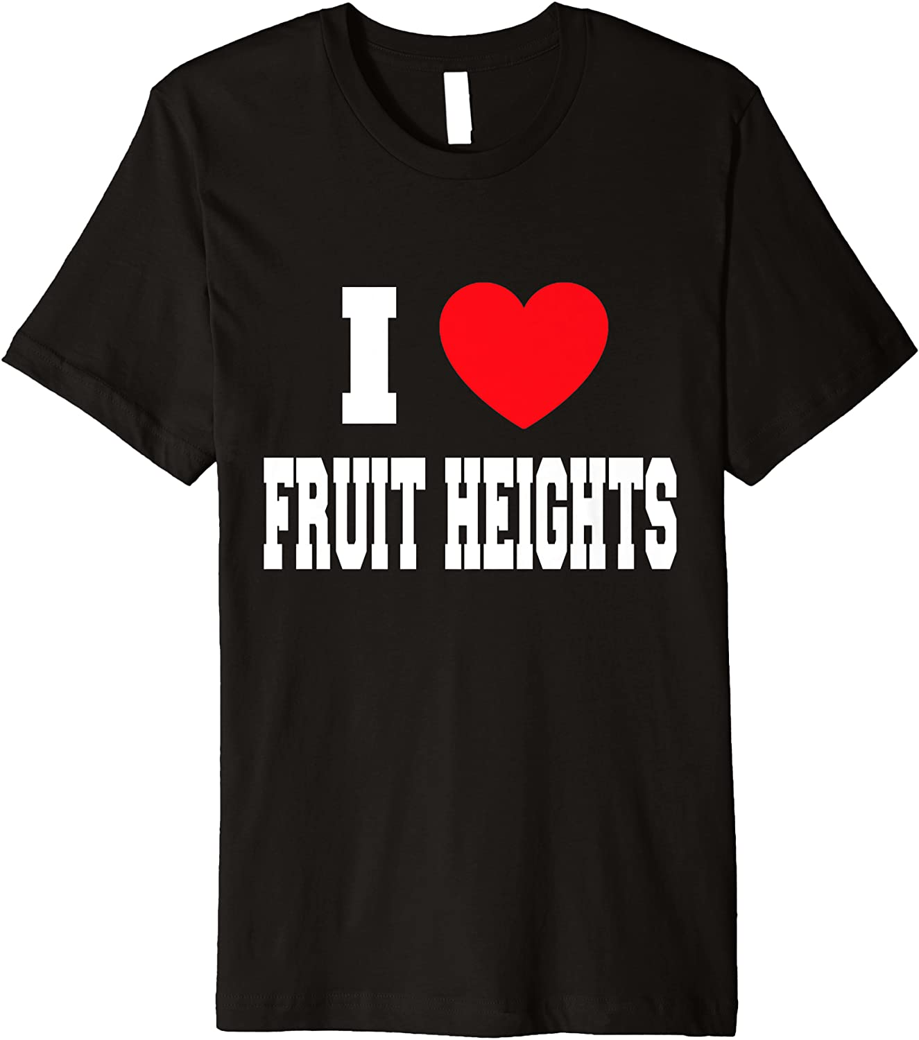 I Love Fruit We OFFer at cheap prices Premium Heights Financial sales sale T-Shirt