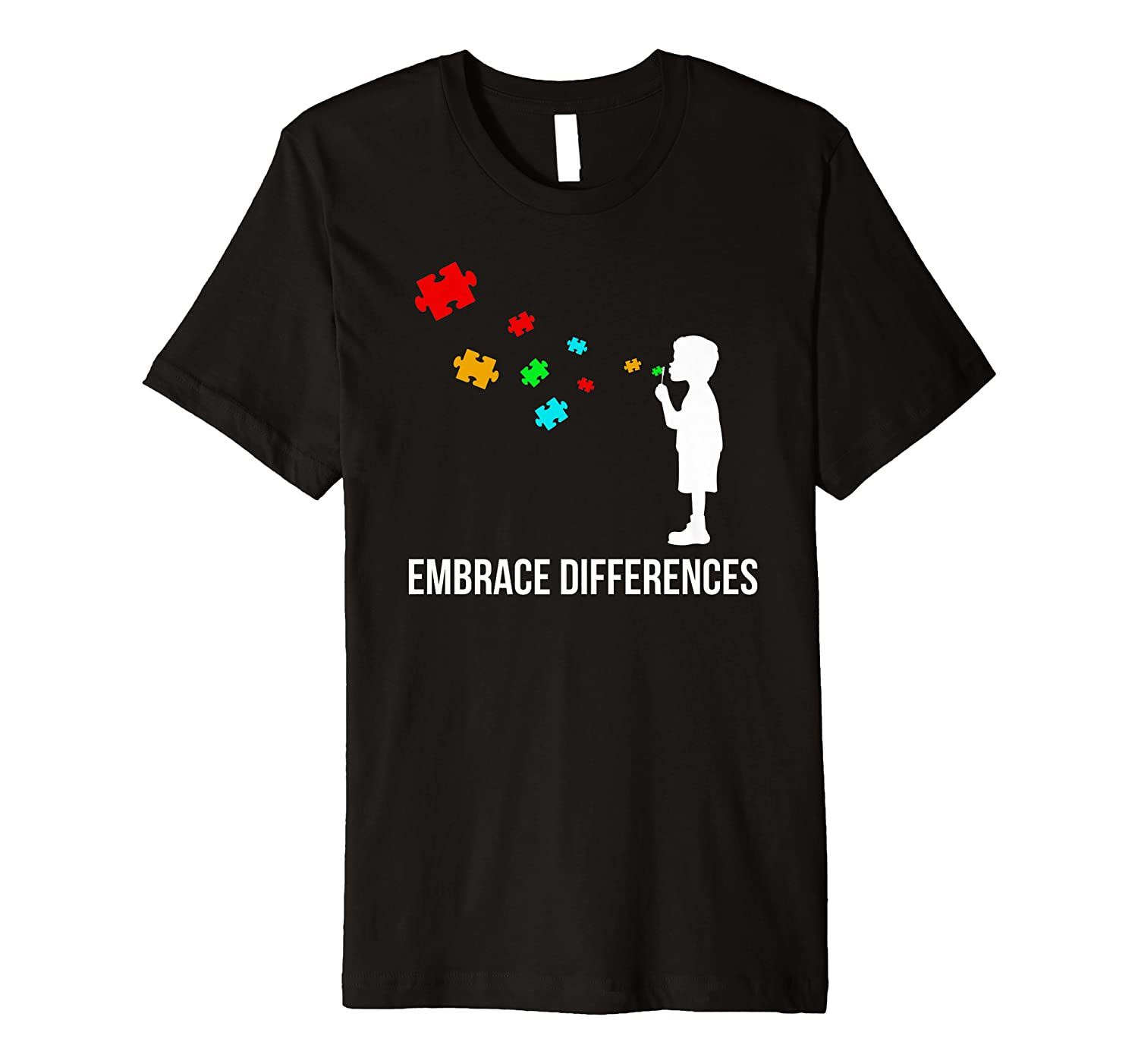 Embrace Differences Shirt – Support Autism Awareness Day Tee