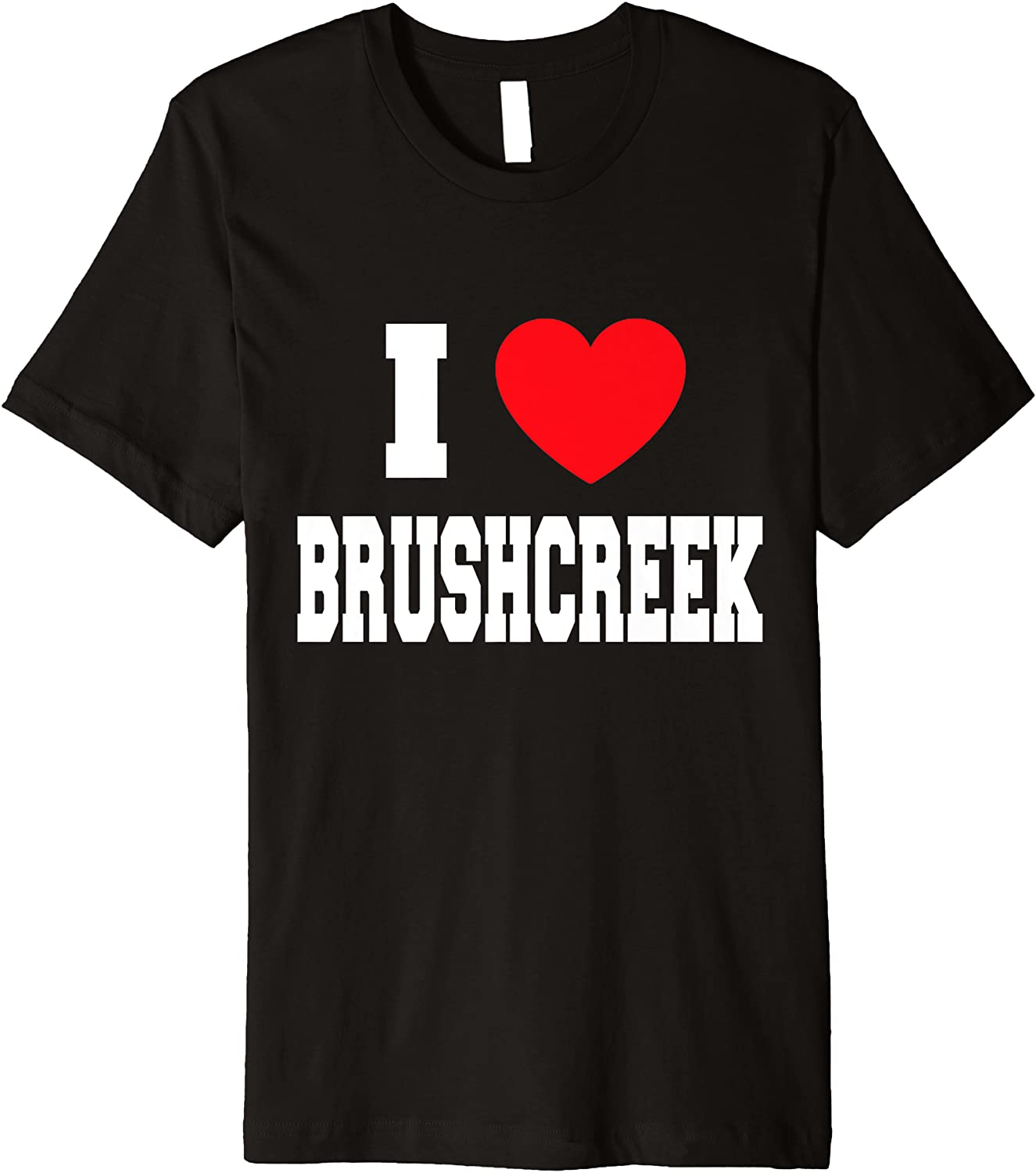 I Love Brushcreek Special Year-end annual account price Premium T-Shirt