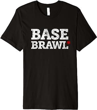 Baseball Basebrawl Tshirt