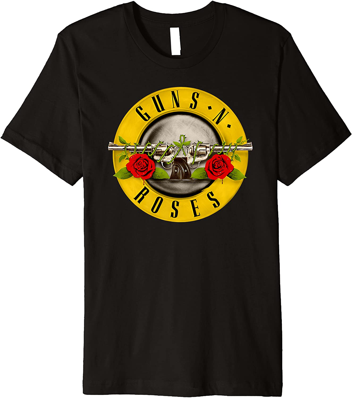 Guns N' Roses Classic Bullet Logo Premium T-Shirt